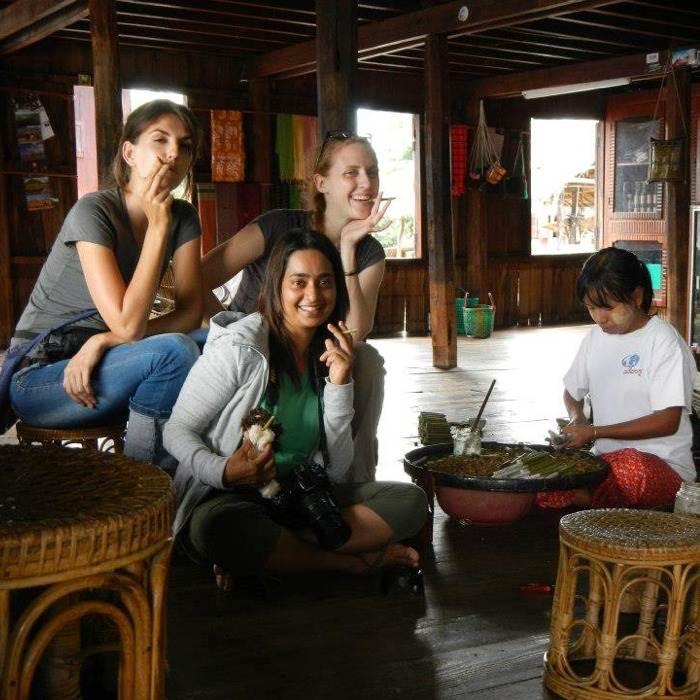 Trekking to Inle lake in Myanmar