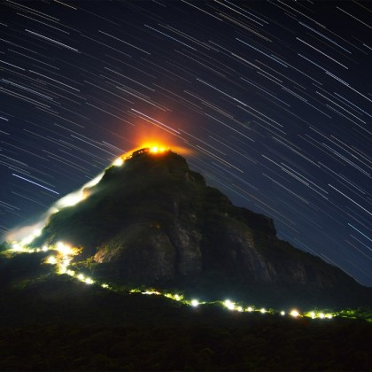 Climbing Adam's Peak in Sri Lanka: travel tips and hints