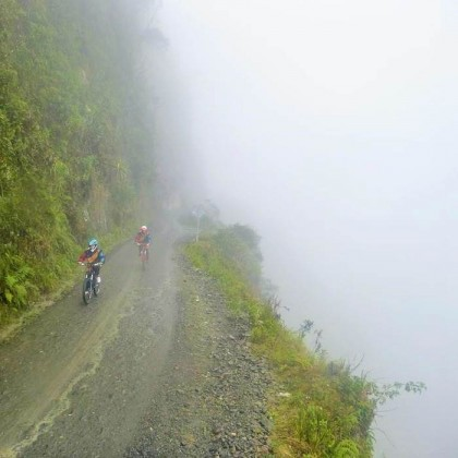Get your adrenaline on the Death Road mountain biking adventure in Bolivia