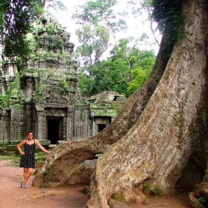 Exploring Angkor Wat by bike