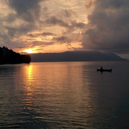 Visiting Sumatra: the Volcanic Lake Toba