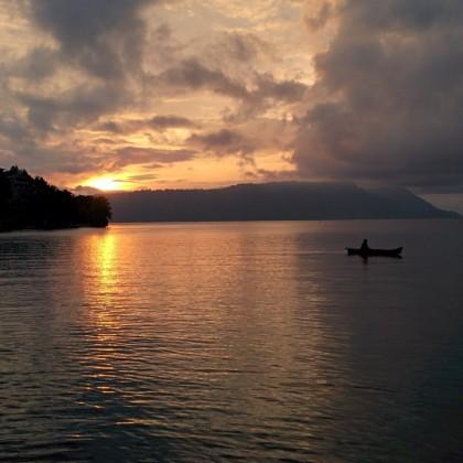 Visiting Sumatra: the Volcanic Lake Toba