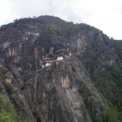 Visiting Tiger's Nest in Bhutan