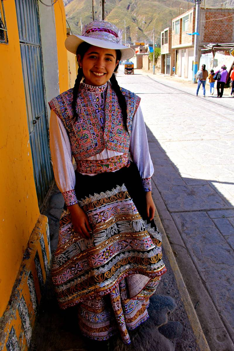 Beautiful smile, Chivay, Peru