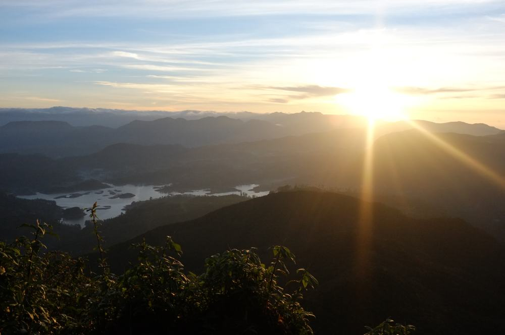 A view from Adam's Peak
