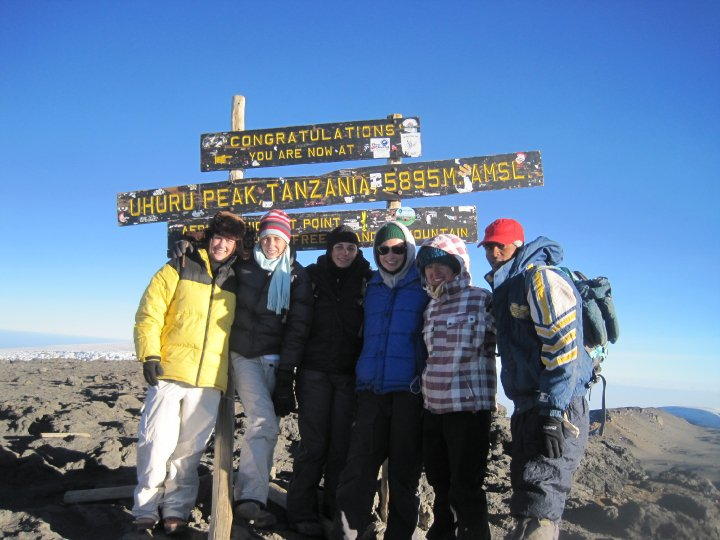 We did it! Uhuru peak Kilimanjaro mount!