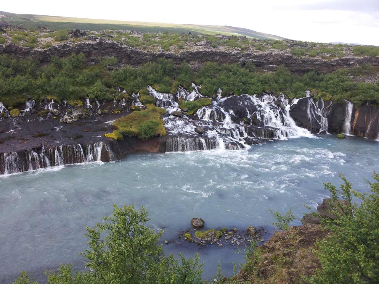 Cycling across Iceland