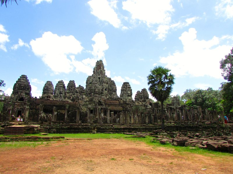 The Bayon Temple within Angkor Thom