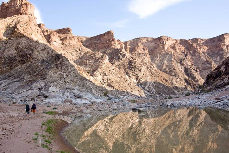 Fish river canyon trail