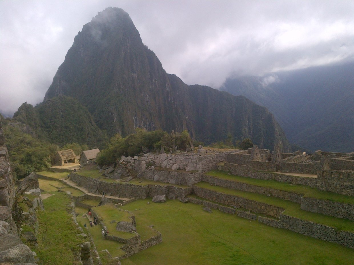 View on Macchu Picchu